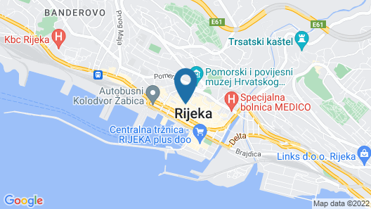 Hotel Bonavia Plava Laguna Map