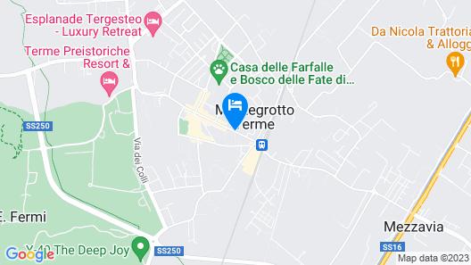 Augustus Terme Map