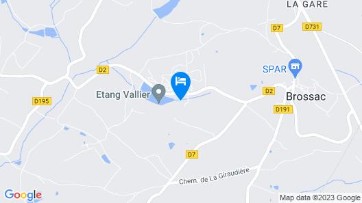 Etang Vallier Resort Map