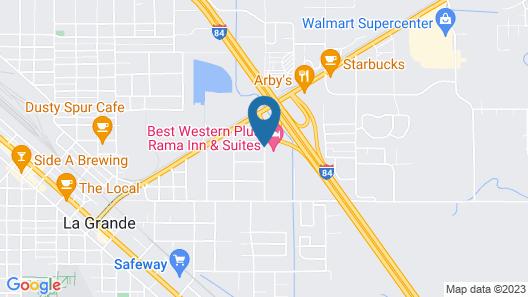 Best Western Plus Rama Inn & Suites Map