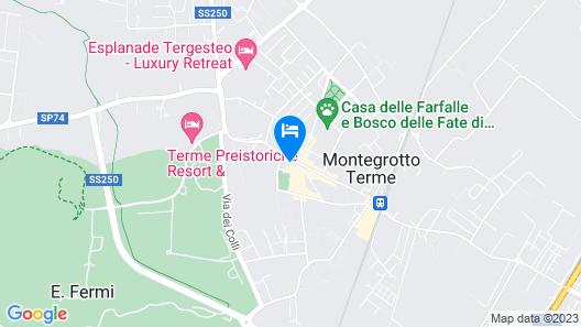 Olimpia Terme Map