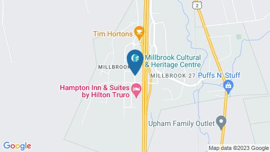 Super 8 by Wyndham Truro NS Map
