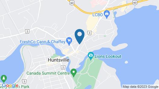 Huntsville Inn Map