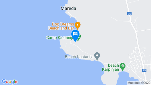 Superior Mobile Homes Kastanija - Campsite Map