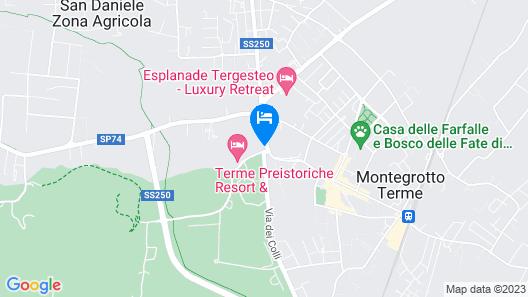 Terme Petrarca Map