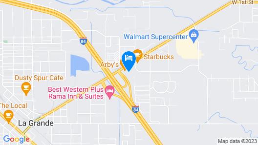 La Grande Inn Map