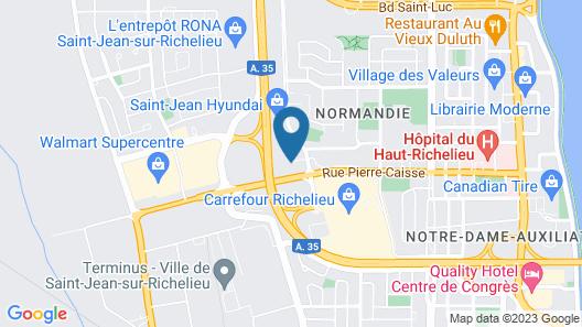 Holiday Inn Express St. Jean Sur Richelieu, an IHG Hotel Map