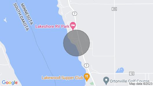 Waterfront Big Stone Lake Home W/dock & Views Map