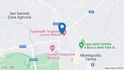 Esplanade Tergesteo Map
