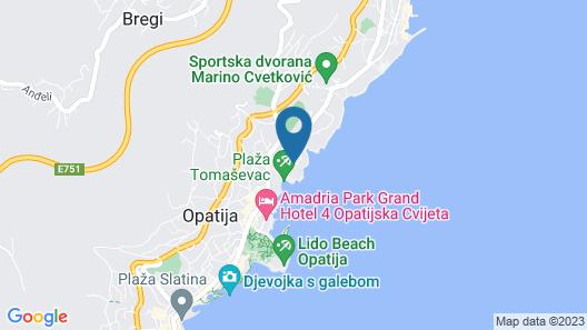 Remisens Premium Hotel Ambasador Map