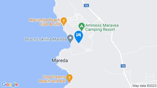 Aminess Maravea Camping Resort Mobile Homes Map