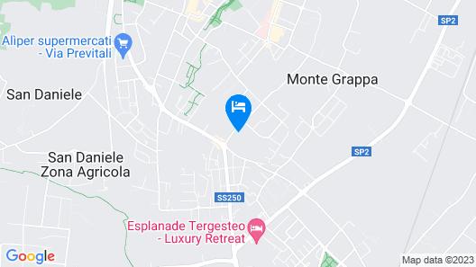 Hotel Terme Antoniano Map