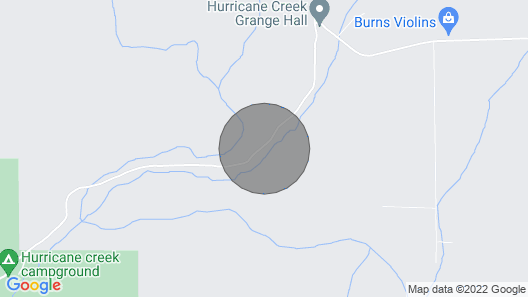 Hurricane Creek Canyon Map