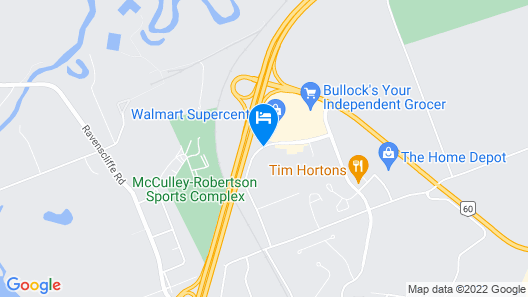 Motel 6 Huntsville, ON Map