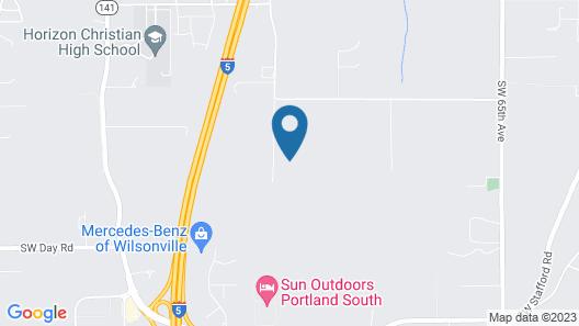 Spacious Suite on Oregon Equestrian Estate Map
