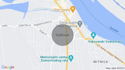 Studio-Apartment reichlich Paket Map