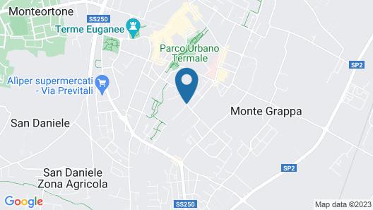 Abano Verdi Hotel Terme Map