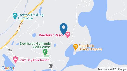 Deerhurst Resort Map