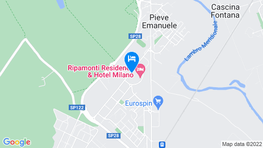 Ripamonti Residence & Hotel Map