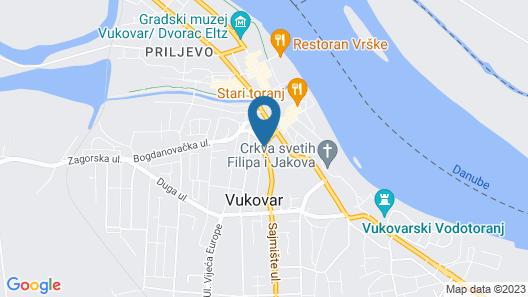 Hostel 101 Dalmatinac Vukovar Map