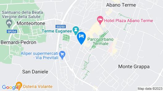Hotel Terme Mioni Pezzato Map