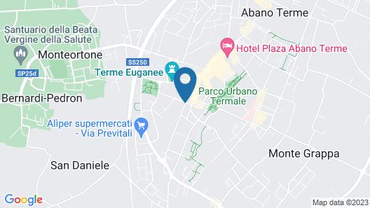 Hotel Terme Helvetia Map