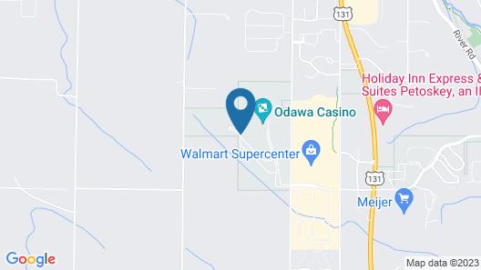 Odawa Hotel Map