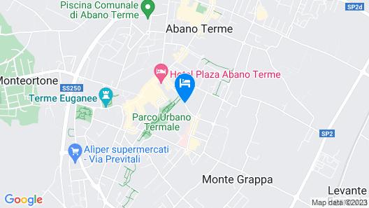 Hotel Venezia Terme Map