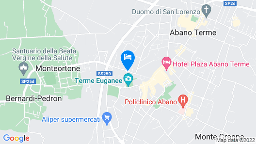 President Terme Hotel Map