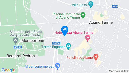 Hotel La Residence & Idrokinesis Map