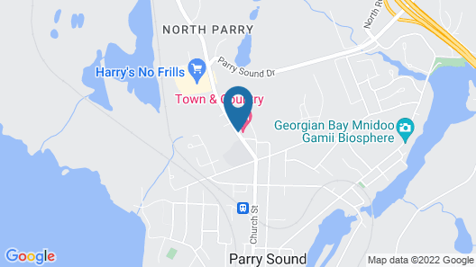 Town and Country Motel Map