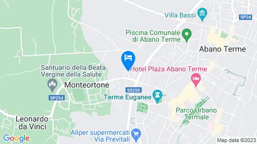 Hotel Terme Orvieto Map