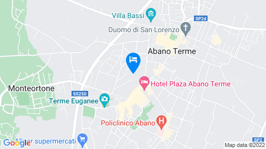 Hotel Terme Internazionale Map
