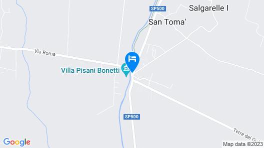La Barchessa di Villa Pisani Map