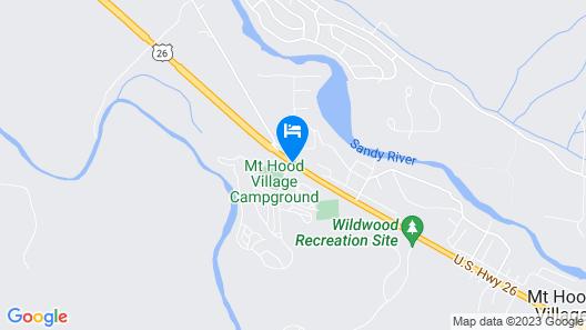 Mt. Hood Village RV Resort Map