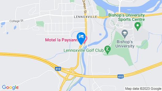 Motel-Hotel La Paysanne Map