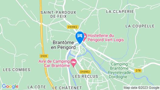 Hotel Restaurant Charbonnel Map