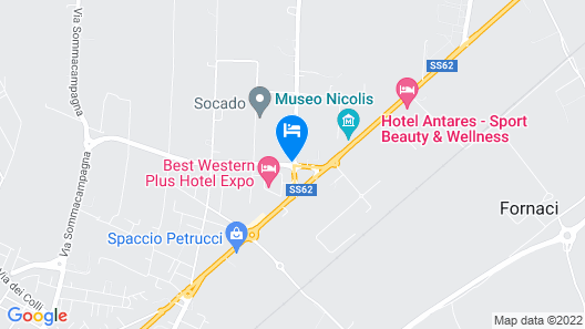 Best Western Plus Hotel Expo Map