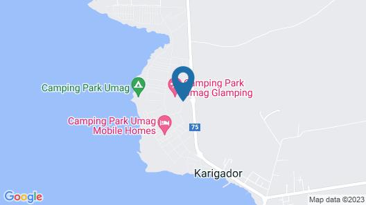 Camping Park Umag Map