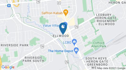 Residence Inn by Marriott Ottawa Airport Map