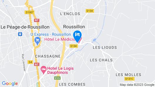Hôtel Le Médicis Map