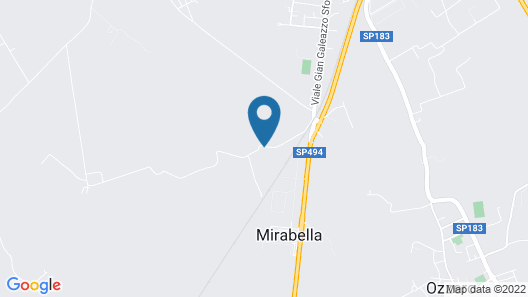Agriturismo La Morosina Map