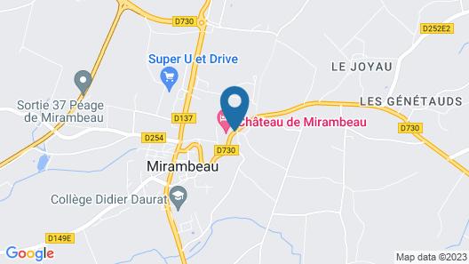 Château de Mirambeau Map