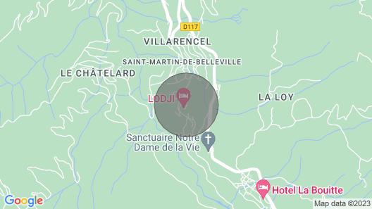 Apartment Saint-martin-de-belleville, 1 Bedroom, 4 Persons Map