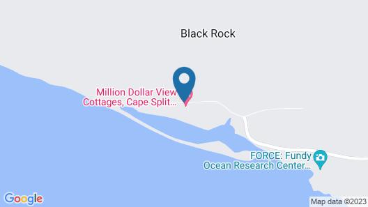 Cape Split View Cottages Map