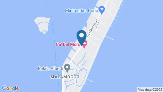 Ca' del Moro Map