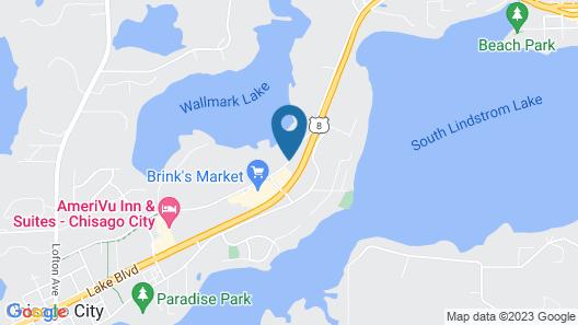Super 8 by Wyndham Chisago City Map