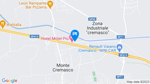 Hotel Motel Più Map