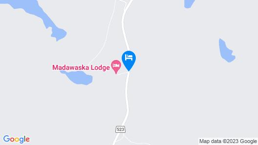 Madawaska Lodge - The Longhouse Map