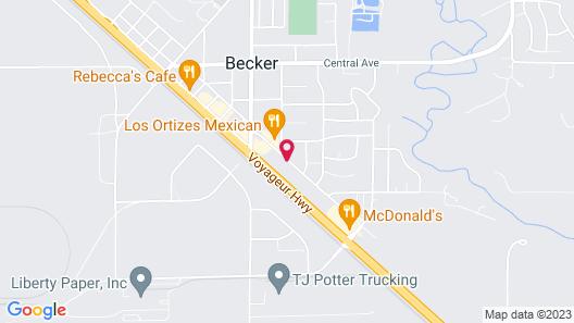GrandStay Hotel & Suites Becker-Big Lake Map